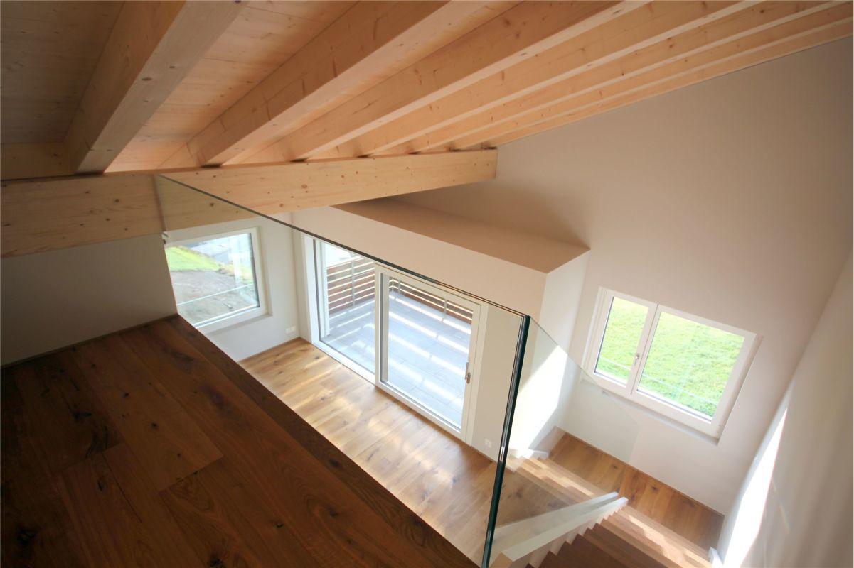 Blick von Galerie Dachgeschoss
