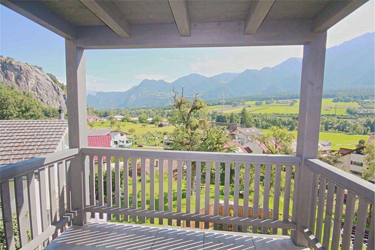 Balkon Richtung Osten