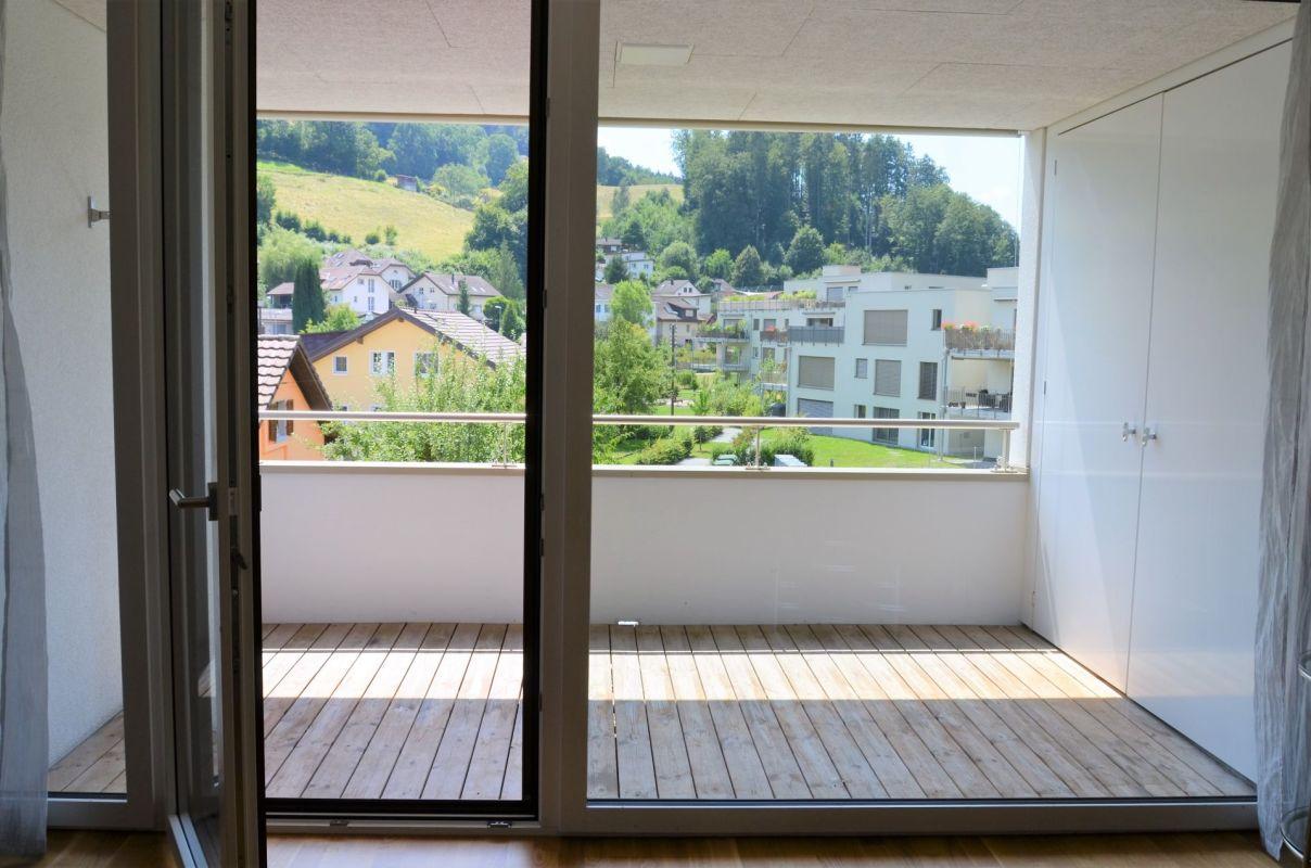 Terrasse mit Abstellraum