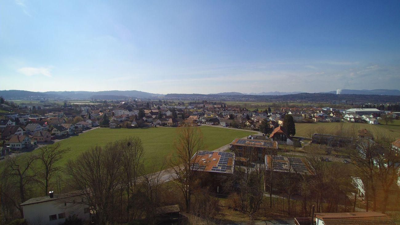 Fernsicht von der Terrasse