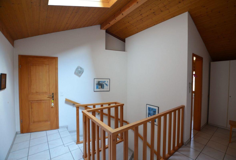 Treppenhaus mit Nasszelle