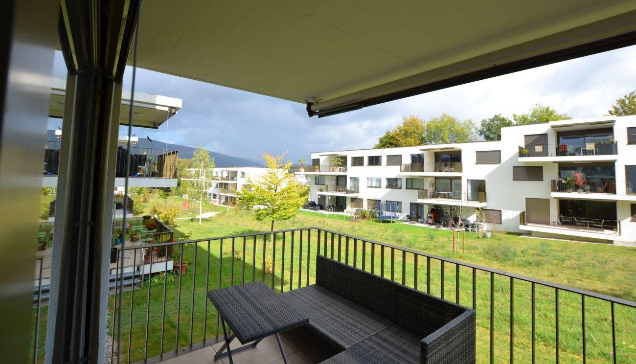 Balkon Ost Hochparterre