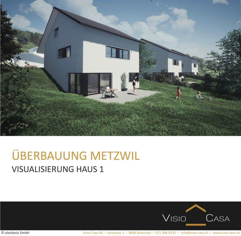 Visualisierung Haus 1