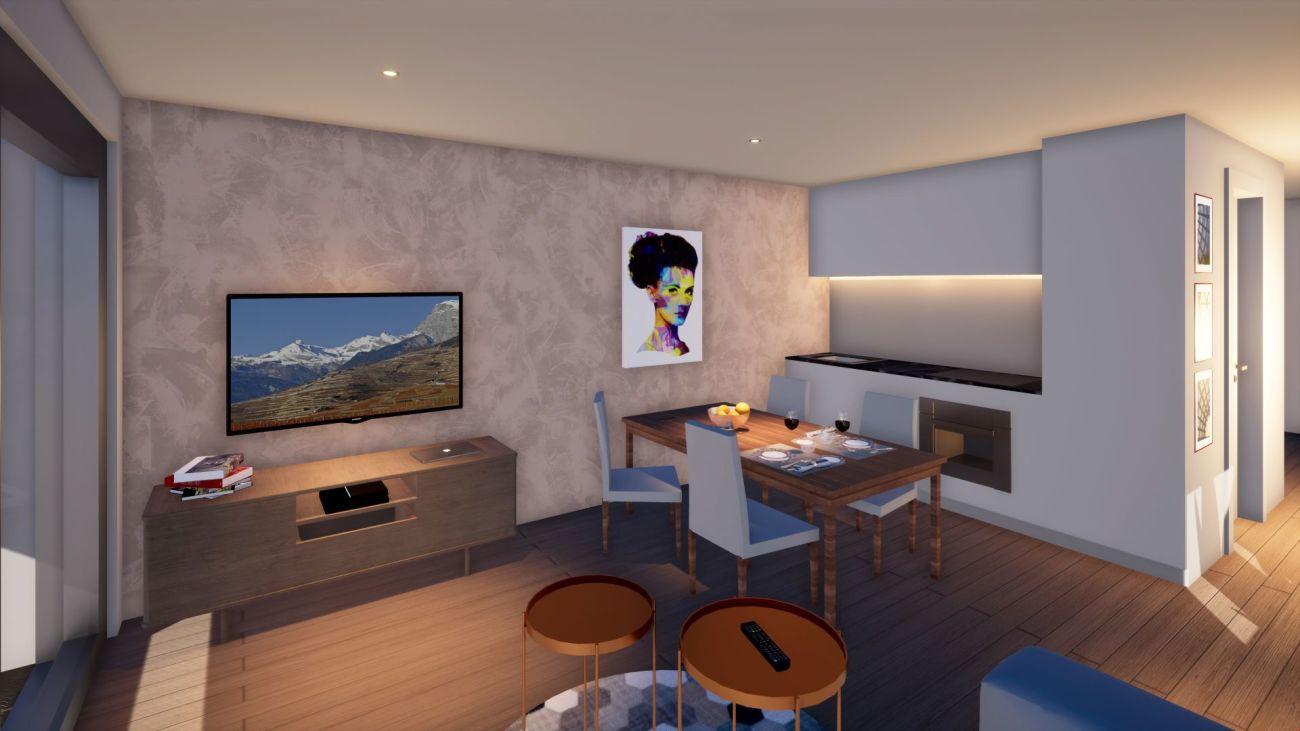 Appartement neuf à Chamoson
